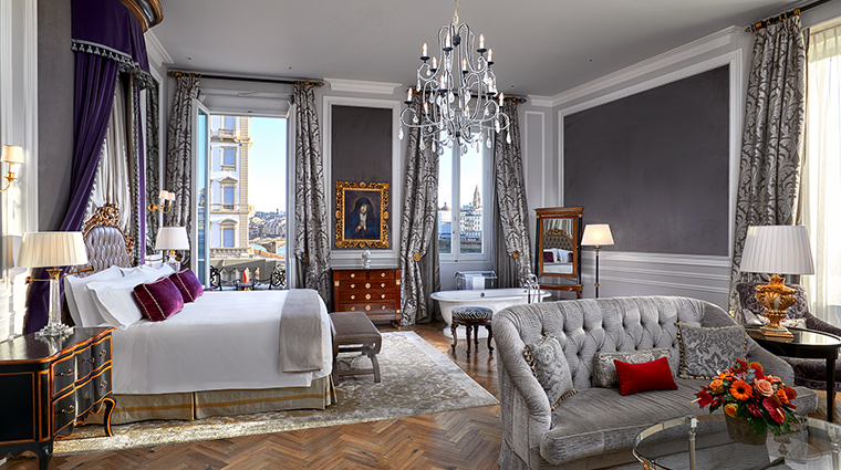The St Regis Florence junior suite