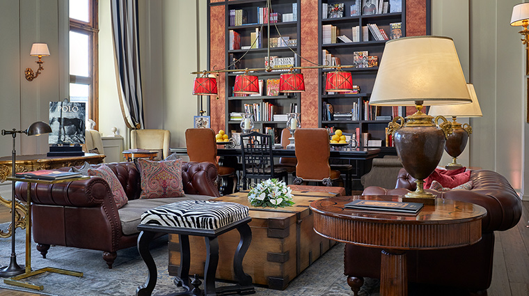 The St Regis Florence library