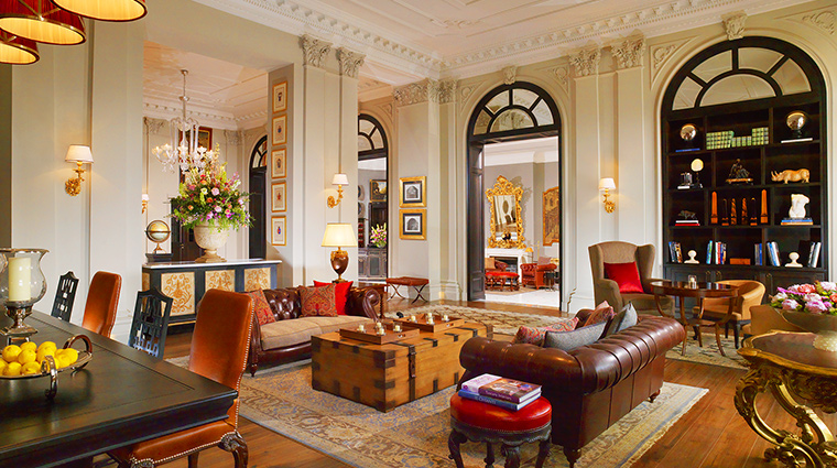 The St Regis Florence lobby