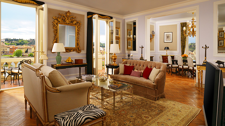 The St Regis Florence presidential suite
