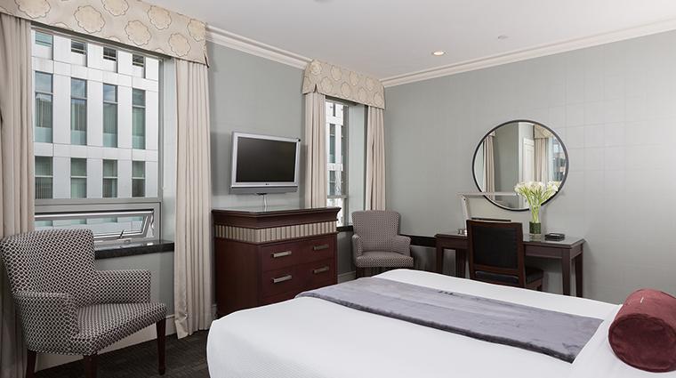The St. Regis Hotel bedroom view