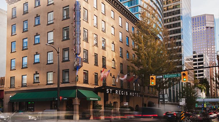 The St. Regis Hotel exterior