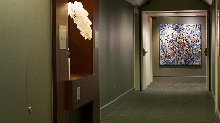 The St. Regis Hotel hallway