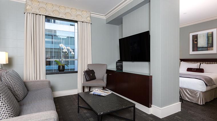 The St. Regis Hotel living room bedroom