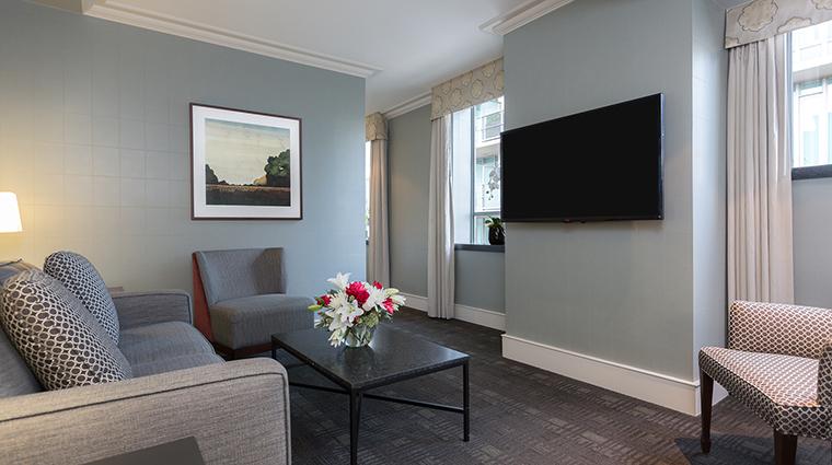 The St. Regis Hotel living room