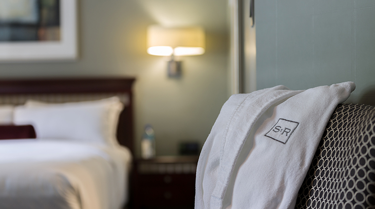 The St. Regis Hotel robe