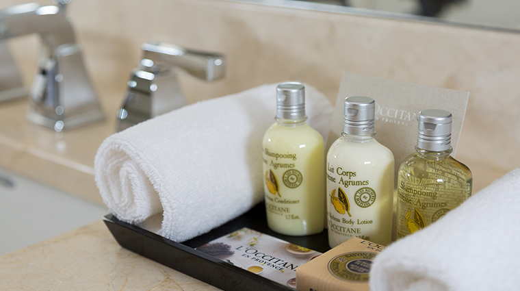 The St. Regis Hotel shampoo