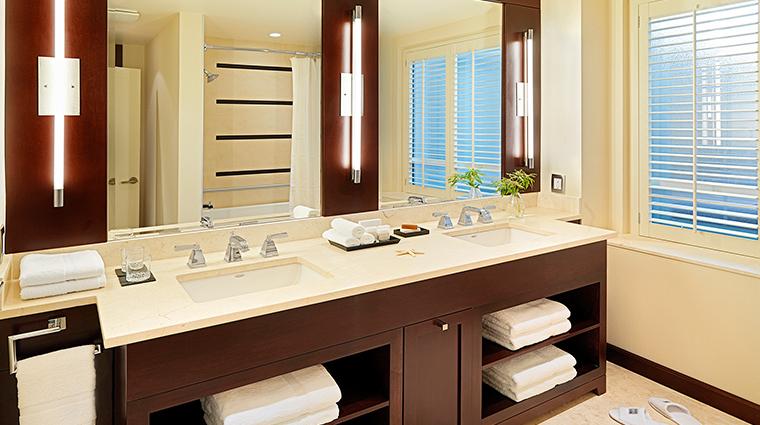 The St. Regis Hotel suite bathroom