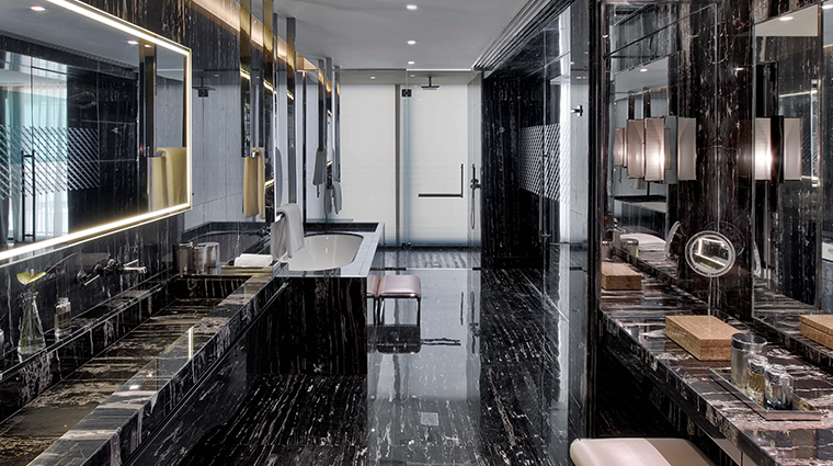 the st regis istanbul bentley suite bathroom