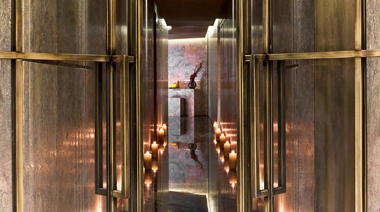 the st regis istanbul iridium spa hallway