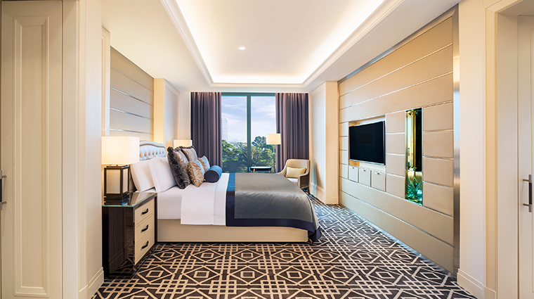 the st regis kuala lumpur Caroline Astor Suite bedroom