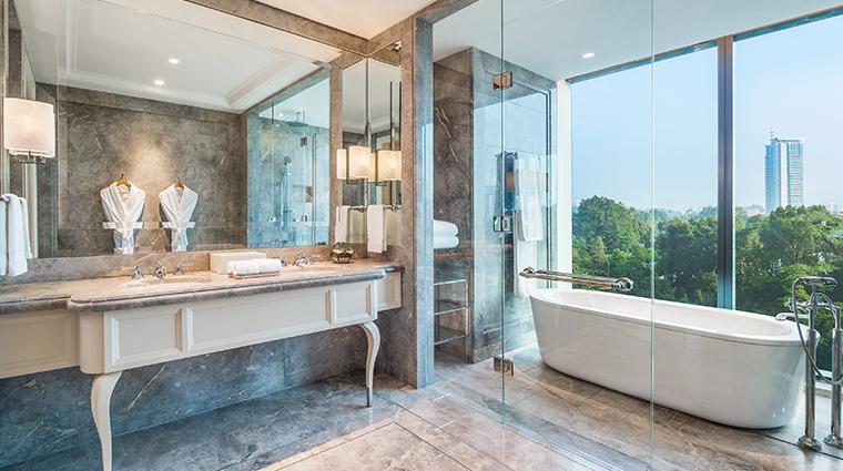 the st regis kuala lumpur Suite bathroom