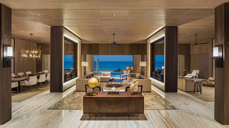 the st regis maldives vommuli resort john jacob astor estate living room