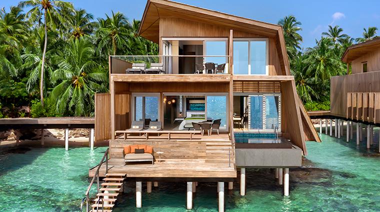 the st regis maldives vommuli resort two bedroom over water