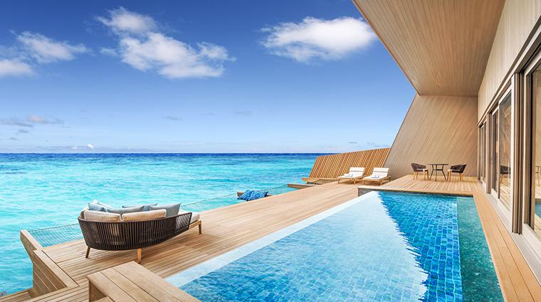 the st regis maldives vommuli resort villa with pooll