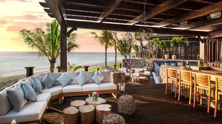 the st regis mauritius Villa bar