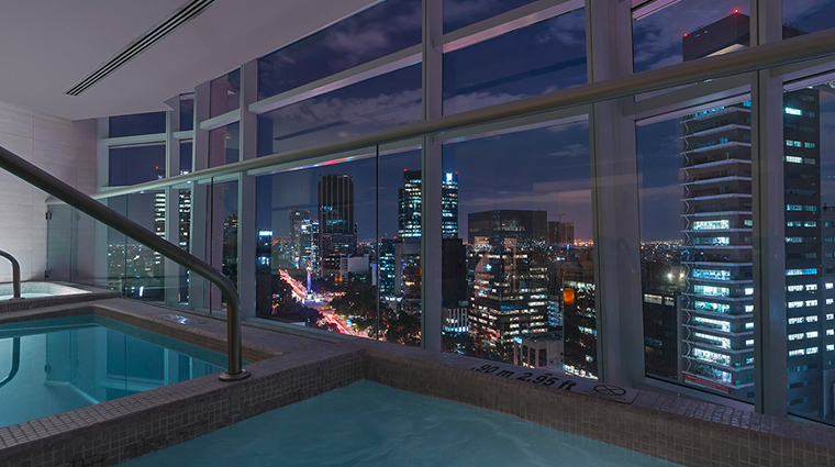 the st regis mexico city pool view