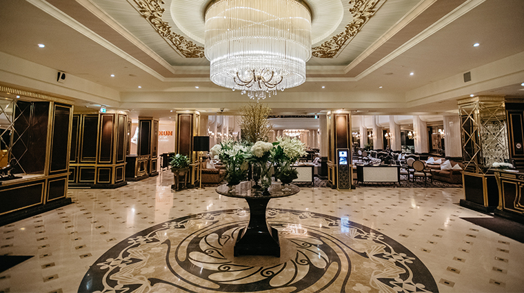 the st regis moscow lobby