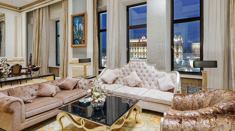the st regis moscow presidential suite