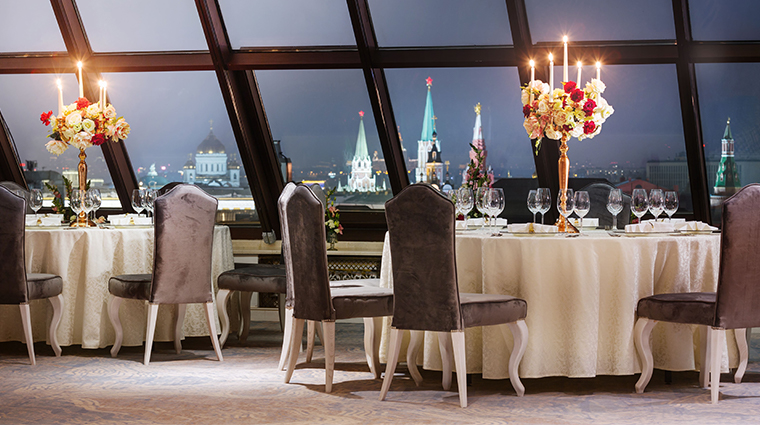 the st regis moscow rooftop restaurant