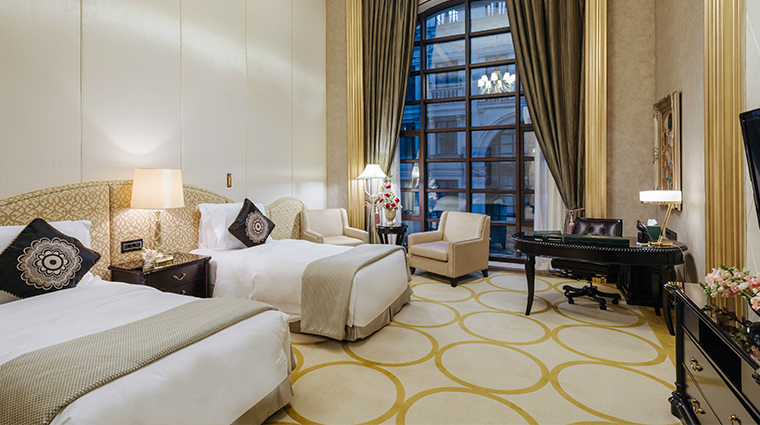 the st regis moscow twin guest room