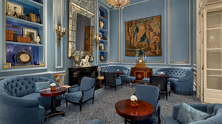 the st regis rome library