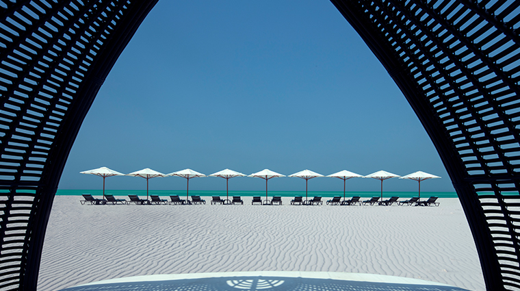 the st regis saadiyat island resort abu dhabi beach cabana