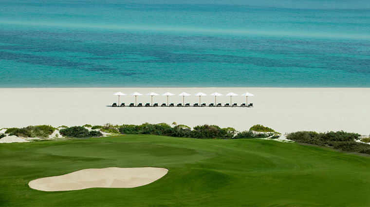 the st regis saadiyat island resort abu dhabi beach