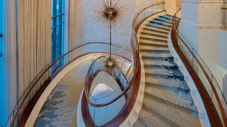 the st regis saadiyat island resort abu dhabi grand stair