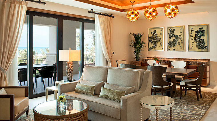 the st regis saadiyat island resort abu dhabi majestic suite living room