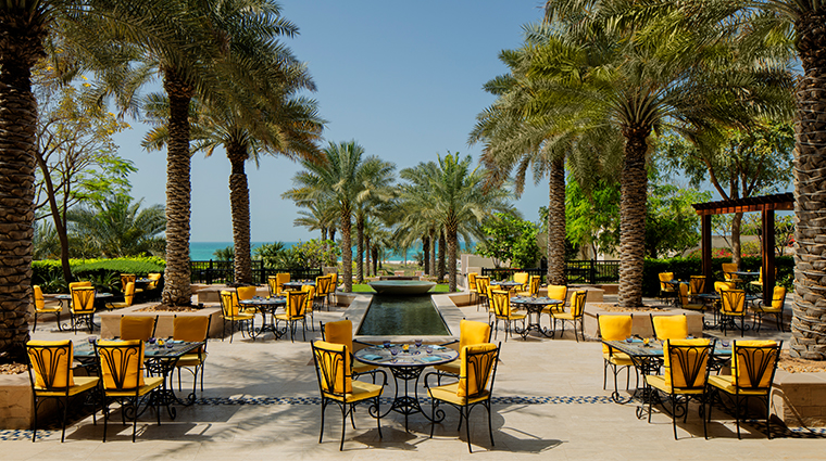 the st regis saadiyat island resort abu dhabi olea terrace