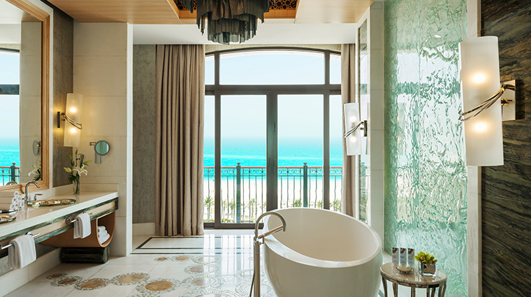 the st regis saadiyat island resort abu dhabi royal suite bathroom