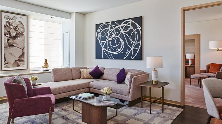 the st regis san francisco overlook suite living room