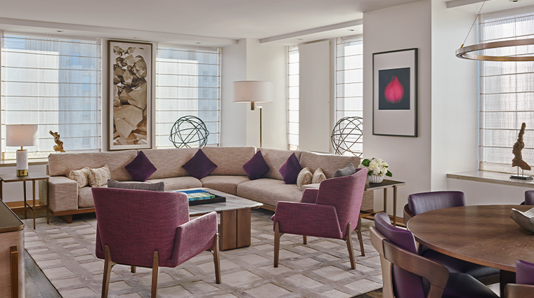 the st regis san francisco suite living room