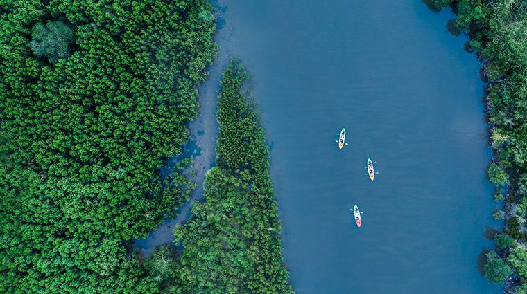 the st regis sanya yalong bay resort kayak