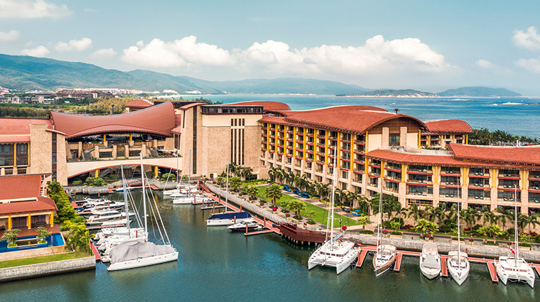 the st regis sanya yalong bay resort marina