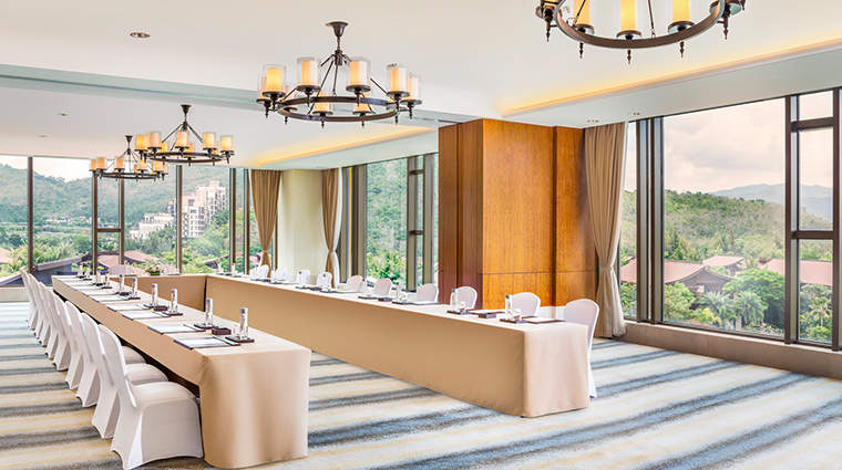 the st regis sanya yalong bay resort meeting room