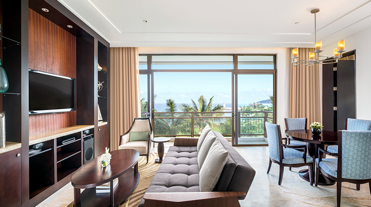 the st regis sanya yalong bay resort ocean view suite