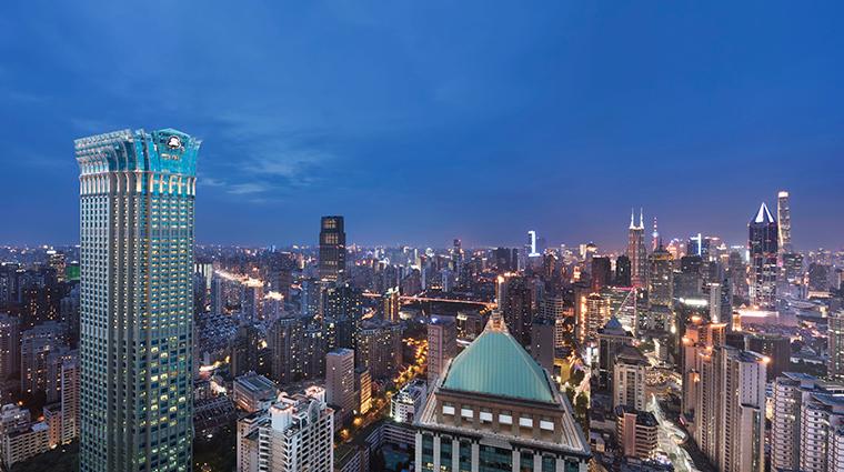 the st regis shanghai jingan exterior landscape