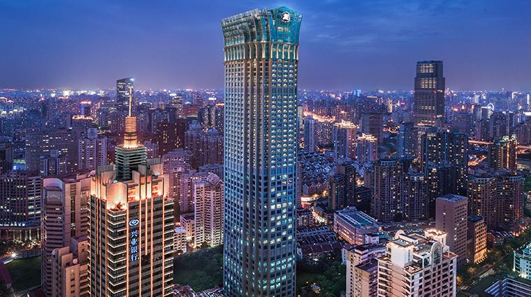 the st regis shanghai jingan exterior