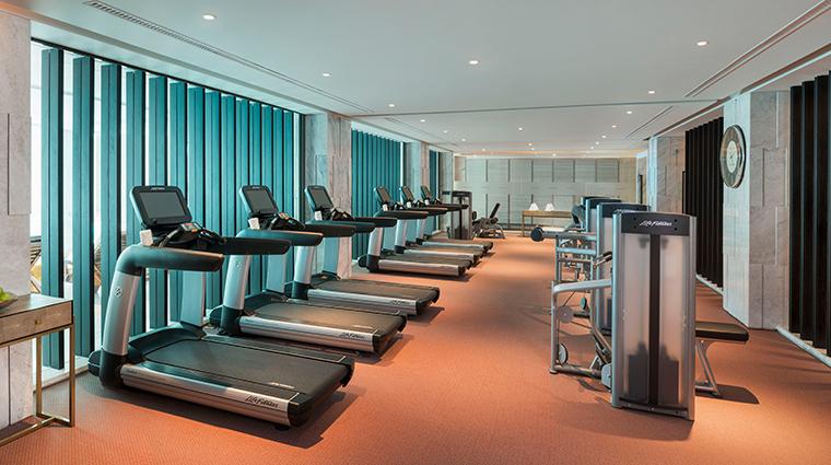 the st regis shanghai jingan gym