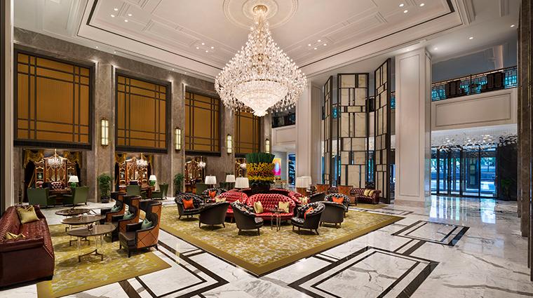 the st regis shanghai jingan lobby