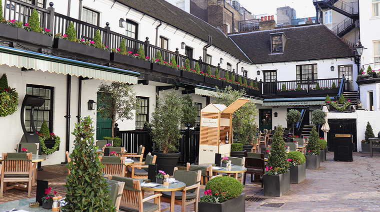 the stafford london courtyard new