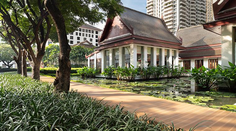 the sukhothai bangkok celadon exterior