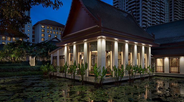 the sukhothai bangkok celadon night