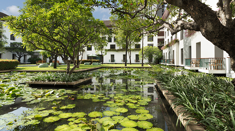 the sukhothai bangkok pond