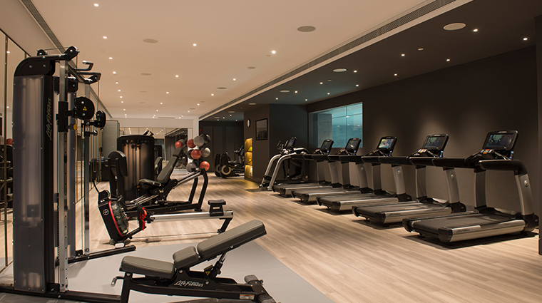 the sukhothai shanghai fitness studio