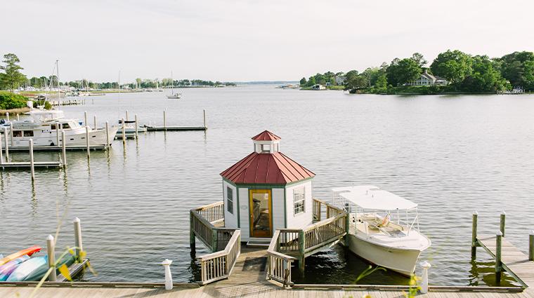 tides inn dock
