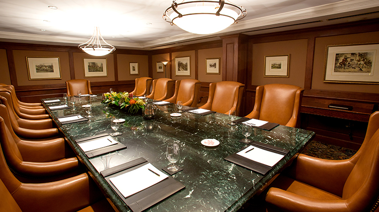 the townsend hotel executive boardroom