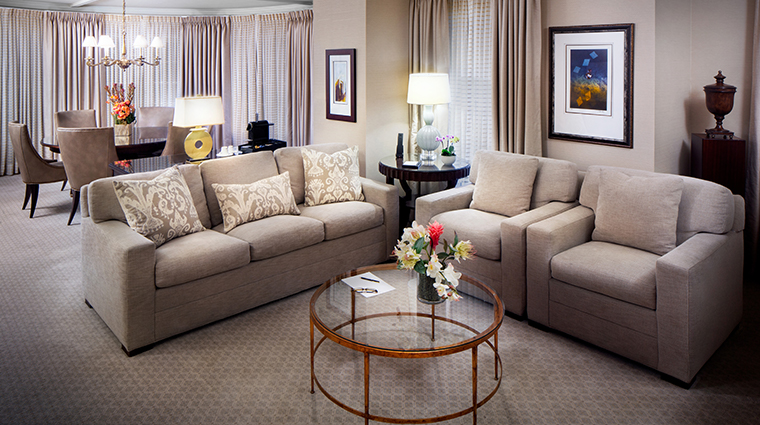 the townsend hotel presidential suite parlor